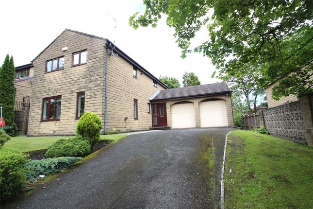 Thumbnail Detached house for sale in Spring Bank Lane, Bamford, Rochdale, Greater Manchester