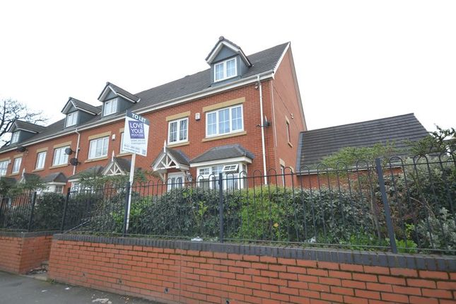 Thumbnail Town house to rent in Sandwell Road, Handworth Wood