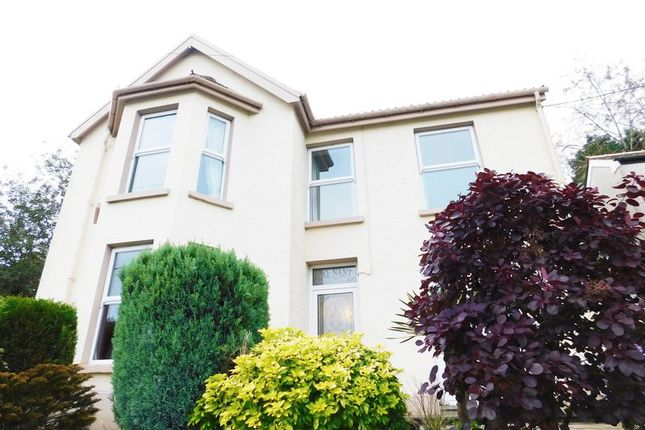 Thumbnail Detached house for sale in Farm Road, Pontlottyn, Bargoed