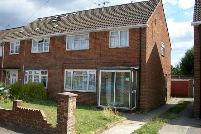 Thumbnail Semi-detached house to rent in Tennyson Close, Crawley