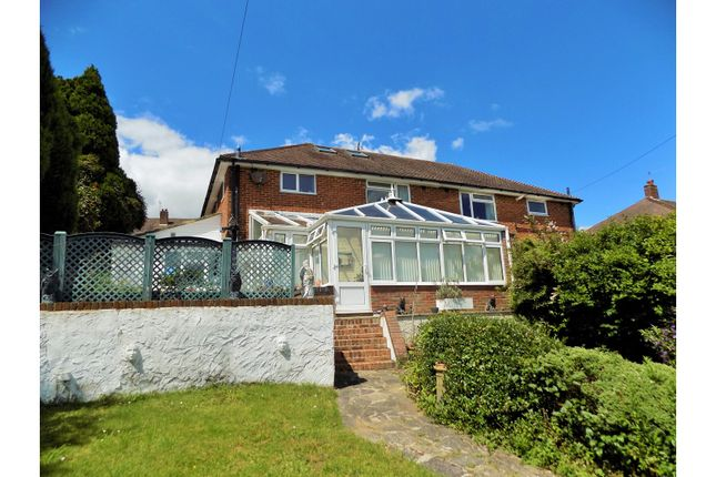 Thumbnail Semi-detached house for sale in Downside, Westdene, Brighton