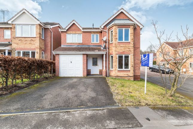 Thumbnail Detached house to rent in Heathfield Way, Berry Hill, Mansfield