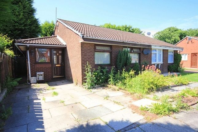 Thumbnail Semi-detached bungalow for sale in Milford Drive, Croxteth Park, Liverpool