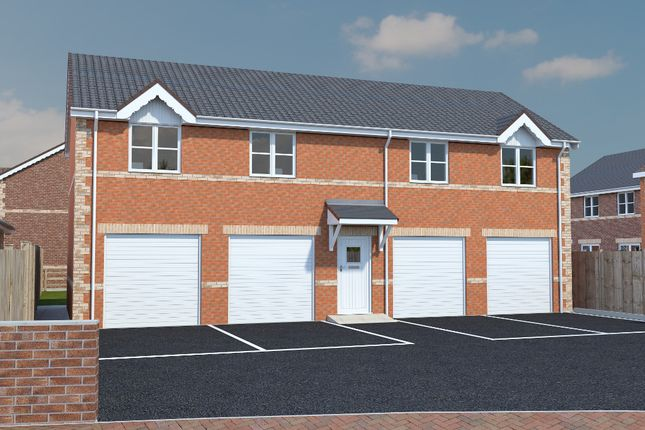 Thumbnail Flat for sale in Noble Road, North Wingfield, Chesterfield
