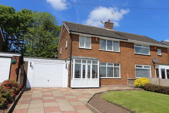 Thumbnail Semi-detached house for sale in Valley Road, Weston Coyney