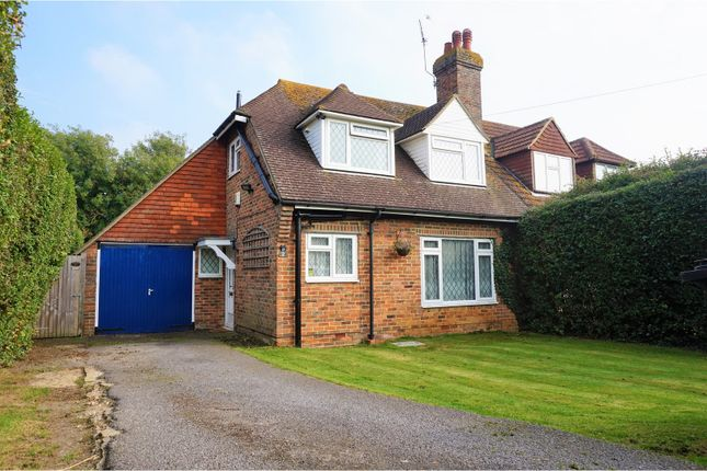 Thumbnail Semi-detached house for sale in Whitehouse Avenue, Bexhill-On-Sea