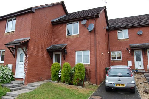 Thumbnail Terraced house to rent in Foxglove Rise, Cornflower Hill, Exwick, Exeter