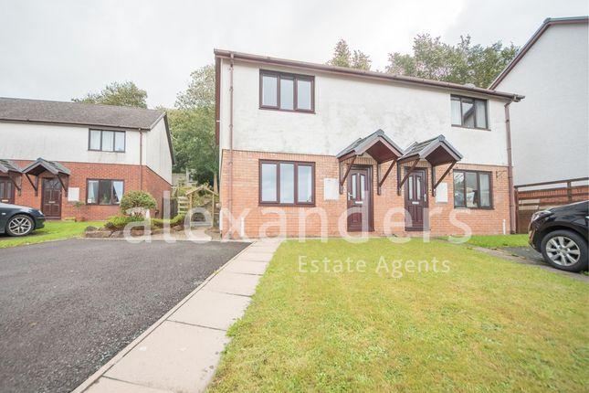 Thumbnail Semi-detached house for sale in Maes Crugiau, Rhydyfelin, Aberystwyth