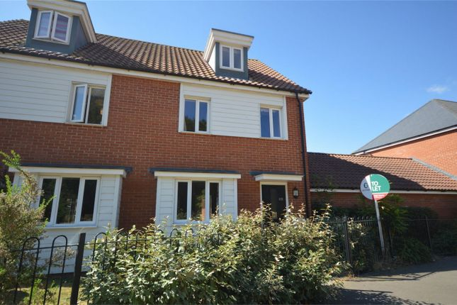 Thumbnail Semi-detached house for sale in Brentwood, Eaton, Norwich, Norfolk