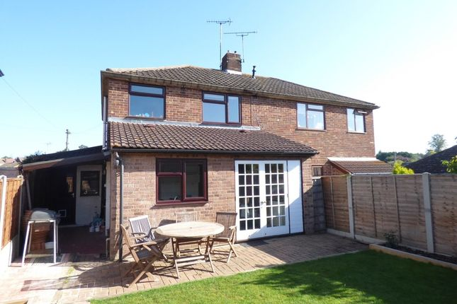 Thumbnail Semi-detached house to rent in Prior Way, Colchester