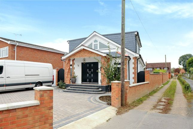 Thumbnail Detached bungalow for sale in Aymer Close, Staines-Upon-Thames, Surrey