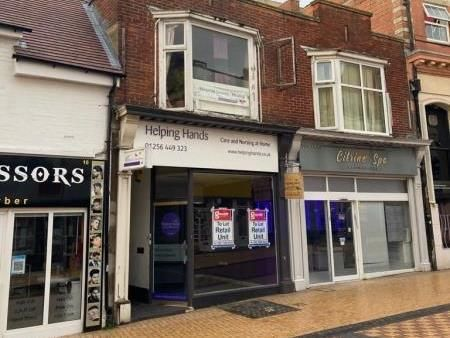 Thumbnail Retail premises to let in Ground Shop, 8, Winchester Street, Basingstoke