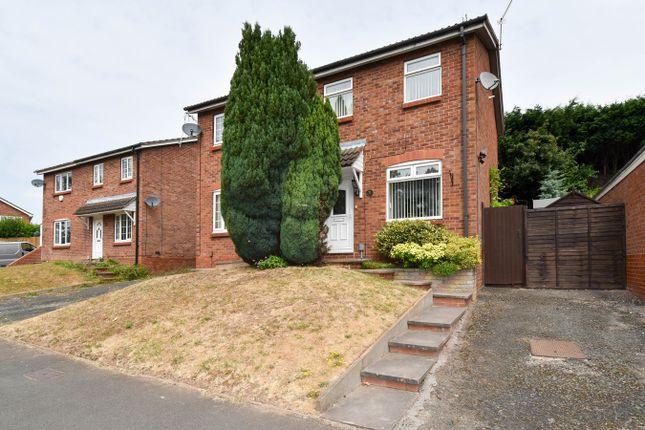 Thumbnail Semi-detached house for sale in Easenhall Lane, Matchborough East, Redditch
