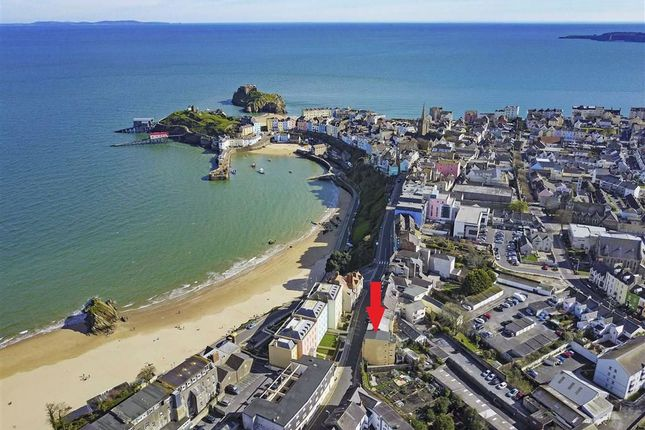 1 bed flat for sale in Flat 3, 21, The Norton, Tenby, Dyfed SA70