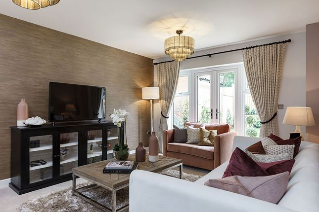 """Thumbnail Detached house for sale in """"The Dunster"""" at Stocks Lane, Winslow, Buckingham"""