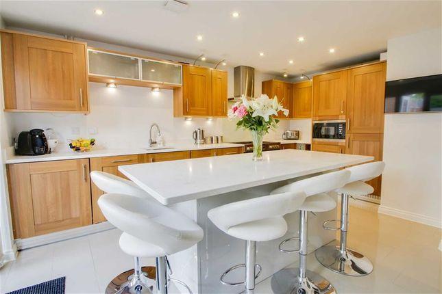 Thumbnail Detached house for sale in Cheviot Gardens, Oakridge Park, Milton Keynes, Bucks