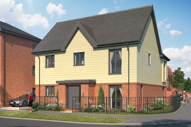 Thumbnail Detached house for sale in Goodwood Crescent, Crowthorne