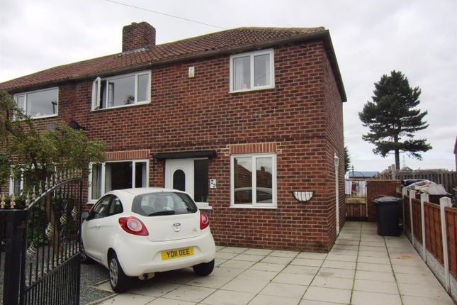 Thumbnail Semi-detached house to rent in Hallfield Avenue, Micklefield, Leeds