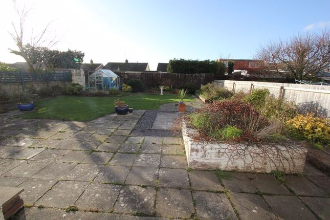 Rear Garden of Nurston Close, Rhoose, Barry CF62