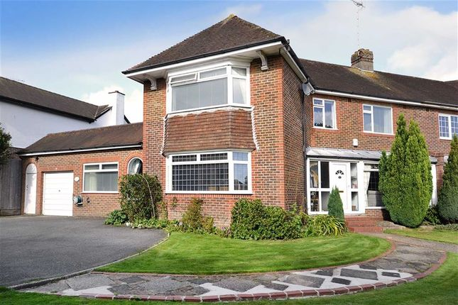 Thumbnail Semi-detached house for sale in Warren Road, Offington, Worthing, West Sussex