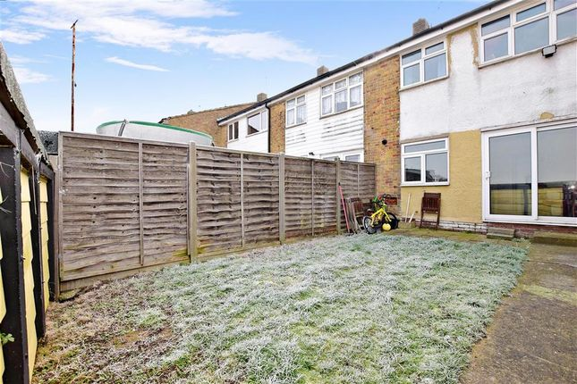 3 bed terraced house for sale in Chelmsford Road, Strood, Rochester, Kent