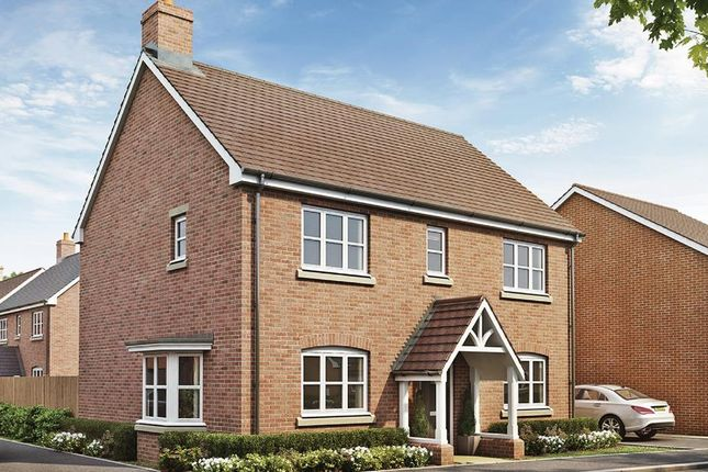 Thumbnail Detached house for sale in The Orchard, Welford Road, Long Marston