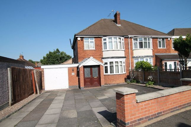 Thumbnail Semi-detached house to rent in Blankley Drive, Stoneygate, Leicester