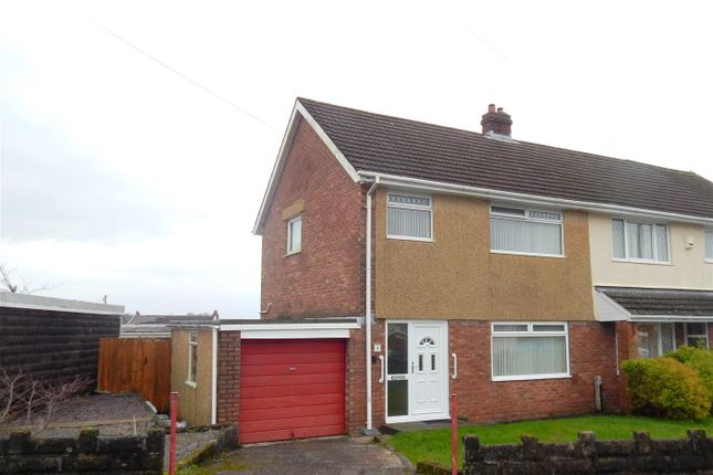 Thumbnail Semi-detached house for sale in Plover Close, Treboeth, Swansea