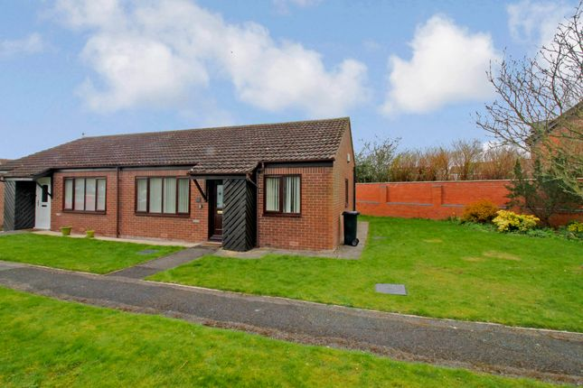 Thumbnail Terraced bungalow for sale in Willow Park, Banks Lane, Carlisle