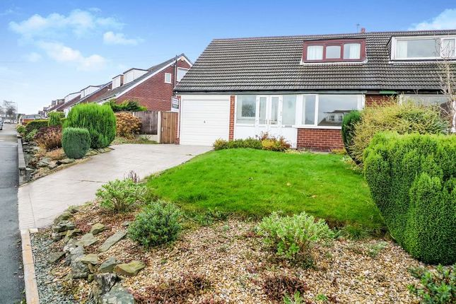 Thumbnail Semi-detached bungalow to rent in Kenmor Avenue, Bury