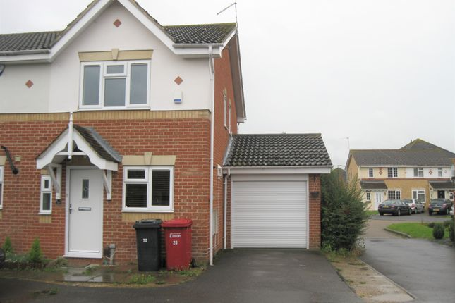 Thumbnail Semi-detached house to rent in Nicholas Gardens, Cippenham, Slough