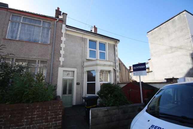 Thumbnail End terrace house to rent in Islington Road, Southville, Bristol