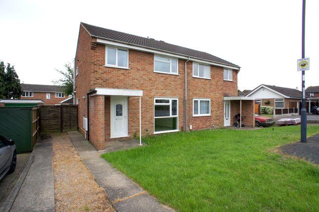3 bed semi-detached house to rent in Dunbar Close, Sinfin, Derby DE24