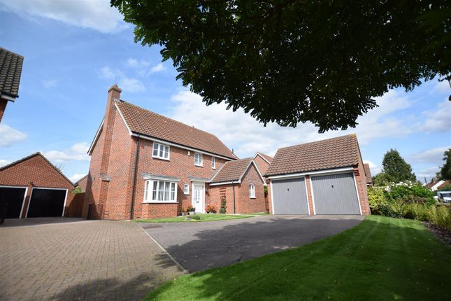Thumbnail Detached house for sale in Besthorpe Road, Attleborough