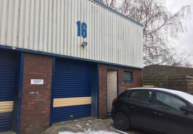 Thumbnail Light industrial to let in Unit 16, Engineer Park, Sandycroft, Flintshire