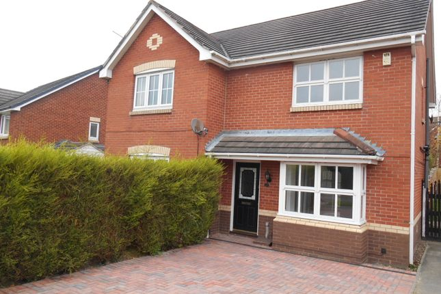 Thumbnail Semi-detached house to rent in Summerfields Way South, Ilkeston, Derbyshire