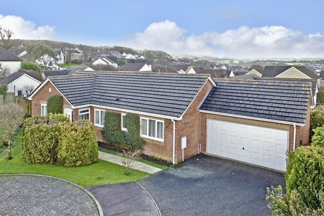 Thumbnail Detached bungalow for sale in Newcombe Close, Okehampton