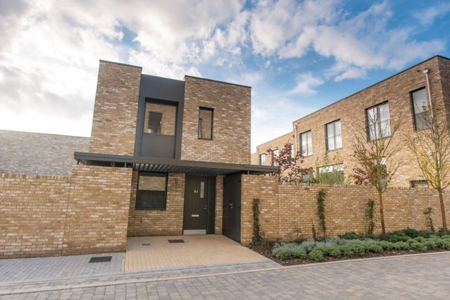 Thumbnail Detached house for sale in Woodpecker Way, Trumpington