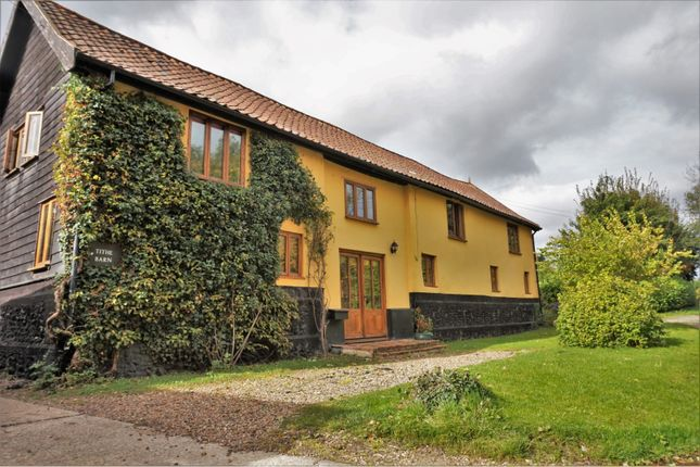 Thumbnail Detached house for sale in Rectory Road, Shelfanger