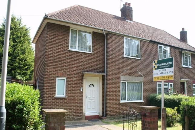 Thumbnail Terraced house to rent in Hermon Grove, Hayes