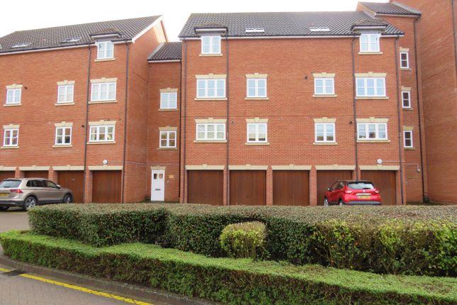 Thumbnail Flat to rent in Woodall Close, Middleton, Milton Keynes