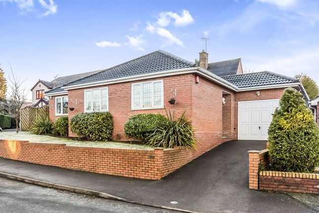 Thumbnail Detached bungalow for sale in Swan Close, Blakedown, Kidderminster