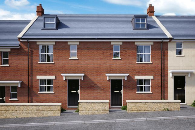 Thumbnail Terraced house for sale in Adcroft Drive, Trowbridge