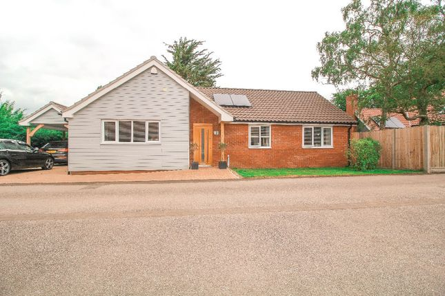 Thumbnail Bungalow to rent in Woolnough Road, Woodbridge