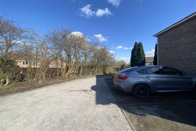 Car Park of Oakworth Drive, Halfway, Sheffield S20