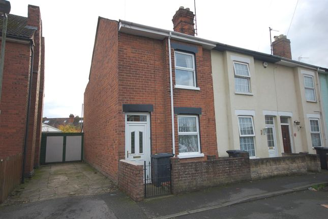Thumbnail End terrace house for sale in Hemmingsdale Road, Hempsted, Gloucester