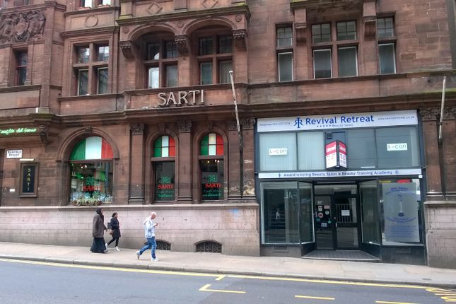 Thumbnail Retail premises to let in Renfield Street, Glasgow