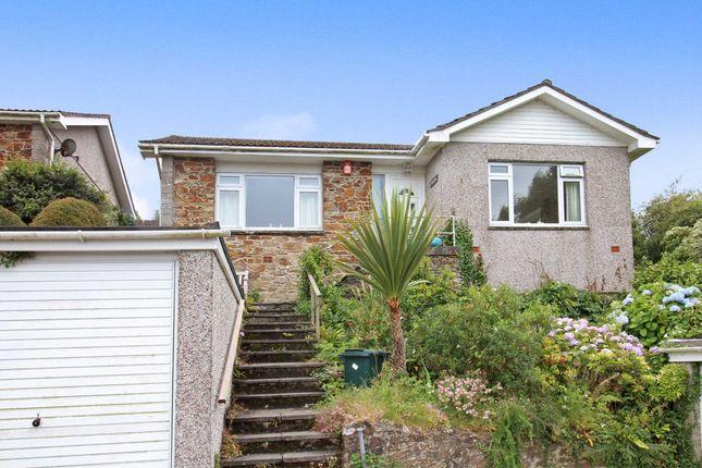 Thumbnail Detached bungalow for sale in St. Winnolls Park, Barbican Hill, Looe
