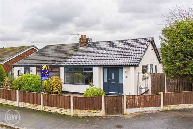 Thumbnail Semi-detached bungalow to rent in Bradwell Road, Lowton, Lancashire