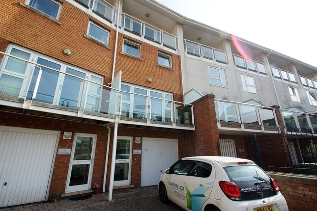 Thumbnail Town house to rent in Taliesin Court, Century Wharf, Cardiff Bay